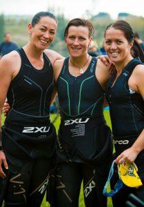 NZL Triathlon Team Members at TriMaori 2013