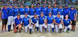 AUCKLAND NFC team - National Fastpitch Champions 2015